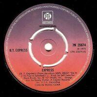 "B.T. EXPRESS Express 7"" Single Vinyl Record 45rpm Pye 1975"