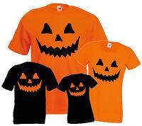 Halloween T SHIRTS  Costume T-SHIRT Pumpkin cheap tee Fancy Dress MEN WOMEN KIDS