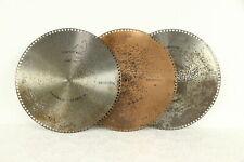 "Regina Music Box Group of 3 Antique 15 1/2"" Disks, Idaho & More #30774"
