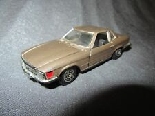 569F Norev Jet Car 821 Mercedes 350 Marrón Metal 1:43