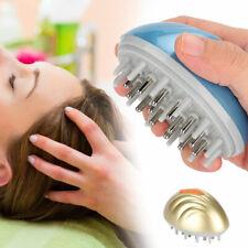 ABS Silicone Shampoo Scalp Shower Body Washing Hair Massage Massager Brush Comb