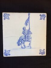 antique Westraven Utrecht Holland  dutch tile. +/- 1850. Collectors Item
