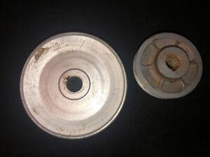"""VTG Delta Rockwell 31-710 6"""" Belt & 12"""" Disk Finishing Machine Pulley Set"""