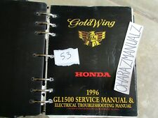 1996 HONDA Gold Wing GL1500 Electrical Troubleshooting & Service Manual OEM