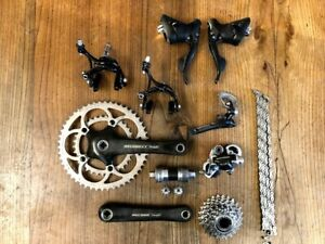 Campagnolo Record 10 speed groupset group set titanium 50 34 172.5 compact
