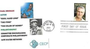 SC#5020 Paul Newman 1st Day Cover Dr. L's cachet #8 20 made
