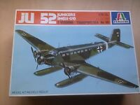 JUNKERS JU 52 3M (G5-G9) 2 VERSIONS TRANSPORT/SEA   1/72 SCALE ITALERI