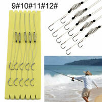 5Pcs Wire Method Carp Fishing Feeder Swim Feeders Spring Lead Sinkers Outdoor