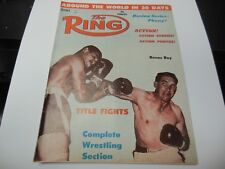 THE RING 1961 ROCKY MARCIANO COVER BOXING MAGAZINE RARE AND MUCH MORE