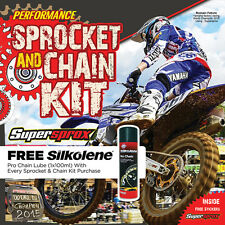RK Chain And Gold Supersprox Sprocket Kit KTM SX EXC SXF 125/144/200/250/300/450