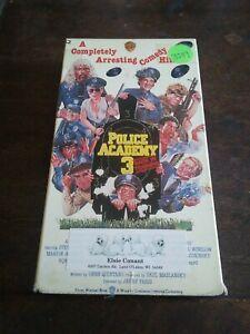 Police Academy 3 VHS