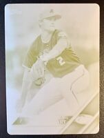 2016 Topps Pro Debut KOHL STEWART Yellow Printing Plate SP 1/1 True One of One