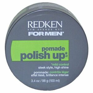 REDKEN FOR MEN  POLISH UP  DEFINING POMADE 3.4 oz   NEW