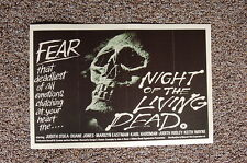 Night of the Living Dead #1 Lobby Card Movie Poster Judith Odea