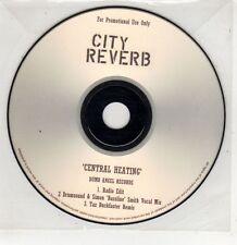 (GU247) City Reverb, Central Heating - DJ CD