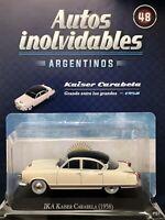 Ika Kaiser Carabela (1958) Diecast Autos Inolvidables Argentina 1:43 w/mag