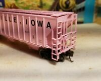 Athearn HO Farnhamville, Iowa acf rtr series covered hopper car metal wheels 54