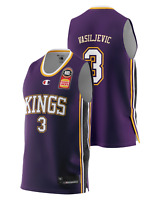 Sydney Kings 20/21 Authentic Home Jersey - Dejan Vasiljevic, NBL Basketball