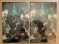 DCeased #5 Inhyuk Lee Virgin and Omega Variant Set