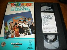 Kidsongs - Id Like to Teach the World to Sing (VHS, 1995)