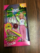 Barbie Bowling Party Stacie Doll with Bowling Pins