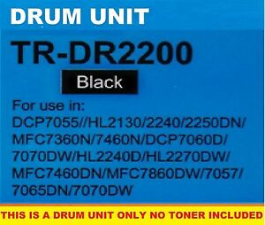 DR2200 DRUM UNIT COMPATIBLE WITH BROTHER DCP7055,DCP7060,DCP7070,MFC7360,MFC7460