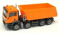 MAN TGS M E6 camion benne orange 8x4 - Herpa - Echelle 1/87 HO