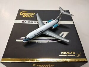 Gemini Jets 1:200 Eastern DC-9-14 N8913E G2EAL070 Hockey Stick