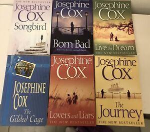 JOSEPHINE COX BULK SET OF 6 ROMANCE NOVELS