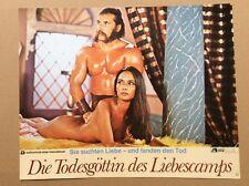 Todesgöttin des Liebescamps (Kinoaushangfoto '81) - Laura Gemser / Sexploitation