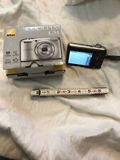 Nikon COOLPIX L31 16.1MP Compact Digital Camera w Micro Adapter Chip Used   2AA