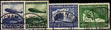 German WW2 Nazi, #606-7, #669-70 3rd Reich Germany postage