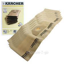 5 X Original Karcher vacío bolsas de polvo k2150 se4001 se4002 Hoover Bolsa