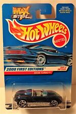 Hot Wheels 2000 First Editions #20/36 MX48 Turbo collector #080 Max Steel