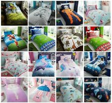Children's Kids Girls Single Duvet Quilt Cover Or Fitted Sheet ,Curtain Bed Sets