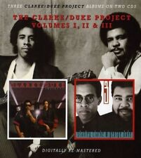 CLARKE/DUKE PROJECT - VOLUMES 1,2+3 2 CD NEU