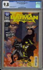 BATMAN & THE SIGNAL #2 - CGC 9.8 - HAMNER COVER AND ART - 1573357018