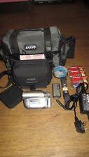 Sony DCR-DVD202E Handycam Camcorder Bundle 'Please Read'