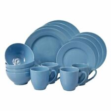 Casuals - Ronda 16pc Stoneware Dinner Set Denim