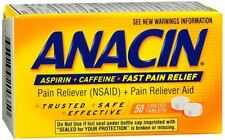 Anacin Tablets 50 Tablets (Pack of 4)