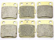 Front Rear Brake Pads For Yamaha YFM 350 Warrior 1989-2004 / Wolverine 1995-2005