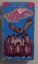 15 aniversario 1990 ano de LOS YONICS   VHS VIDEOTAPE