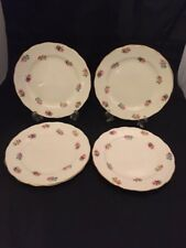 Adderley BONE CHINA Made in England Floreale Rose piastre di piccole dimensioni