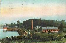 Power Plant, Monhagan Lake, Middletown NY 1911