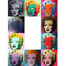 ANDY WARHOL Pop Art Sunday B Morning Marilyn Monroe Portfolio 10 prints + COA