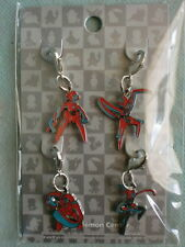 Pokemon Center LTD Metal Charm 4Pset DEOXYS Normal Defense Attack Speed Formes