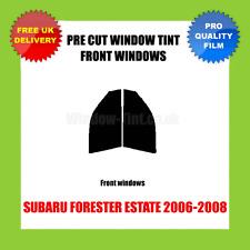 SUBARU FORESTER ESTATE 2006-2008 FRONT PRE CUT WINDOW TINT KIT