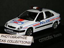 CITROEN XSARA POLICE FRANCE DE NOREV 1/43 Ref 154321