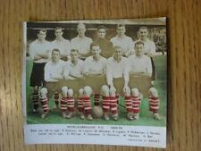 1949/1950 Sport Colour Postcard (poor condition): Middlesbrough. Item In very go