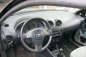 Seat Ibiza 4 IV 6L bei Hamburg SATZ Armaturenbrett Lenkrad Airbag Gurtstraffer